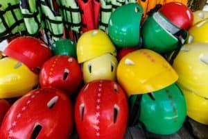 Gatlinburg white water rafting helmets