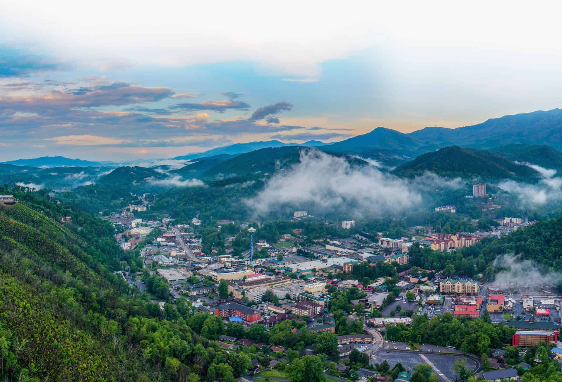 gatlinburg aerial view