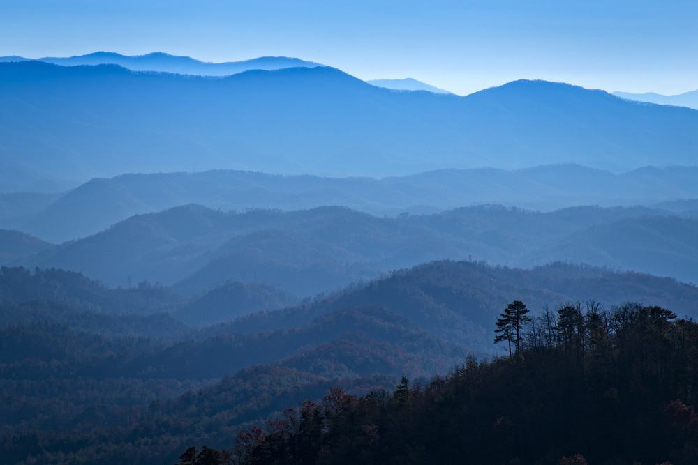 look rock foothills parkway smoky mountains